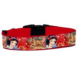 Blancanieves Snow White Collar Perro Hecho A Mano HandMade Dog Collar